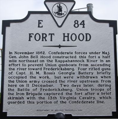 Fort Hood Marker image. Click for full size.