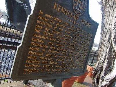 Kennesaw House Marker image. Click for full size.