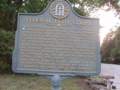 Federal 5th Corps Marker image. Click for full size.