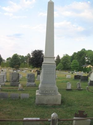 Elijah V. White's Grave Site in Union Cemetery image. Click for full size.
