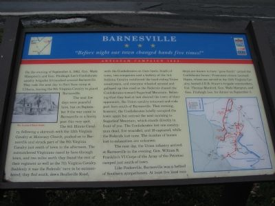 Barnesville Marker image. Click for full size.