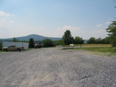 The Marker with Sugarloaf Mountain in the Background image. Click for full size.