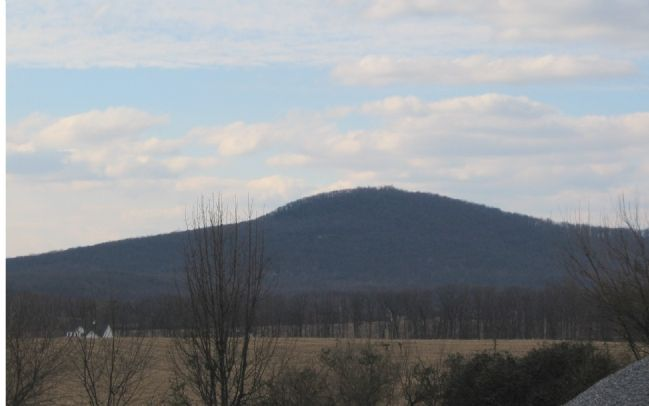 Sugarloaf Mountain from Comus Inn image. Click for full size.