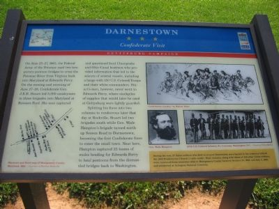 Darnestown Marker image. Click for full size.