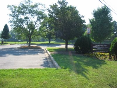 Darnestown Park Entrance image. Click for full size.