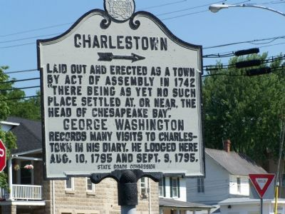 Charlestown Marker image. Click for full size.