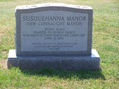 Susquehanna Manor Marker image. Click for full size.
