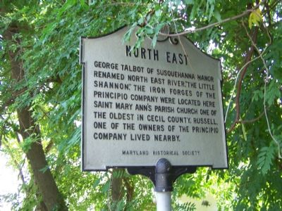 North East Marker image. Click for full size.