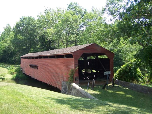 Gilpin's Falls Covered Bridge image. Click for full size.