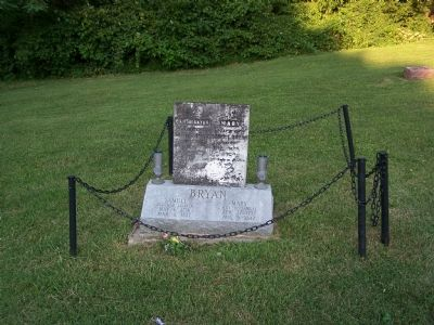 Samuel and Mary Bryan's markers. image. Click for full size.