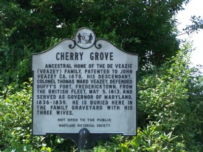 Cherry Grove Marker image. Click for full size.