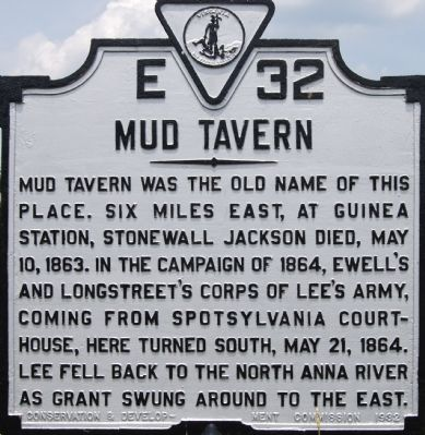 Mud Tavern Marker image. Click for full size.