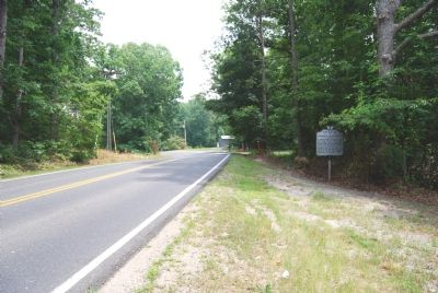 Marker along Partlow Road image. Click for full size.