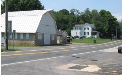 Downtown Hyattstown - Present Day image. Click for full size.