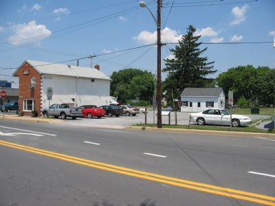 Downtown Poolesville image. Click for full size.