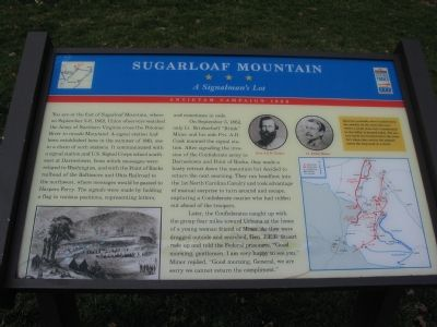 Sugarloaf Mountain Marker image. Click for full size.