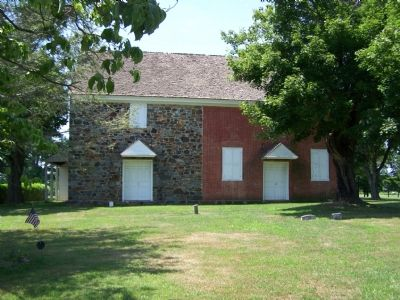 Quaker Brick Meeting House image. Click for full size.