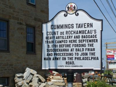 Cummings Tavern Marker image. Click for full size.