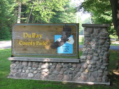 DuBay County Park Sign image. Click for full size.