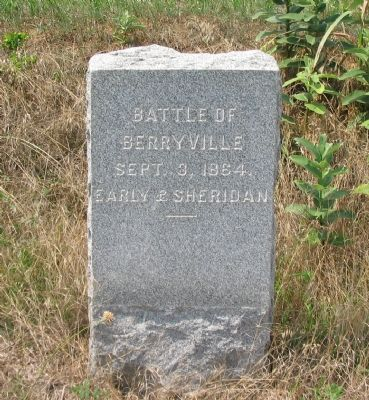 Battle of Berryville Marker image. Click for full size.