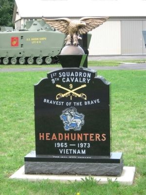 1st Squadron 9th Cavalry Vietnam Monument image. Click for full size.