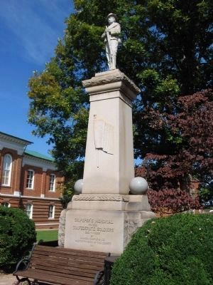 Culpeper County Civil War Veterans Memorial image. Click for full size.