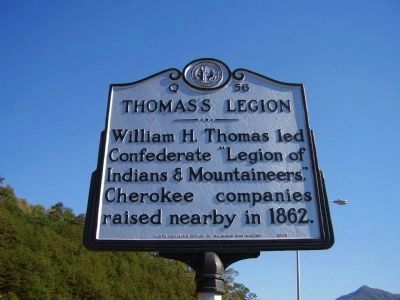 Thomas's Legion Marker image. Click for full size.