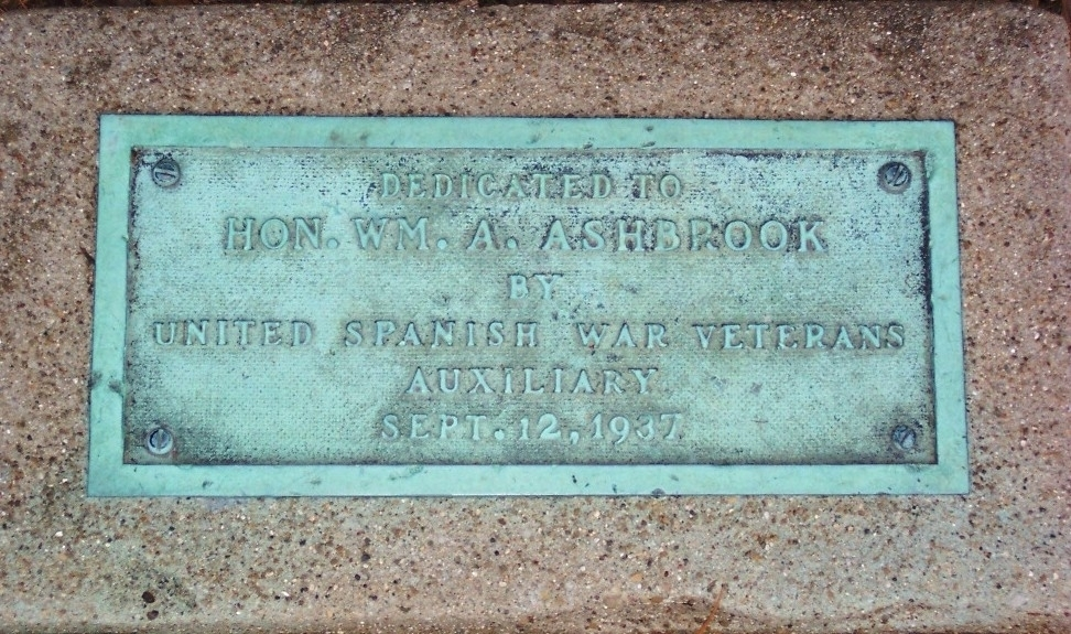Honorable William Albert Ashbrook Marker