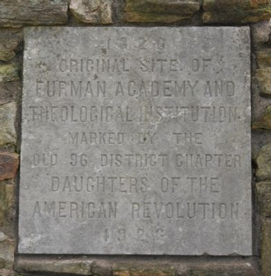 Original Site of Furman Academy Marker image. Click for full size.