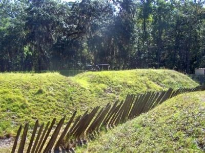 Fort McAllister, south side image. Click for full size.