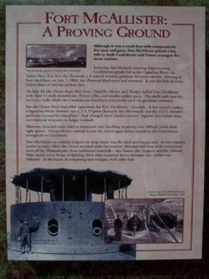 Fort McAllister : A Proving Ground image. Click for full size.