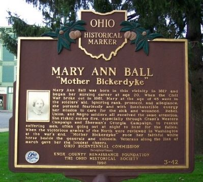 Mary Ann Ball Marker image. Click for full size.