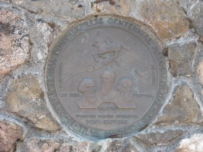 Placerville Pony Express Trail Marker image. Click for full size.