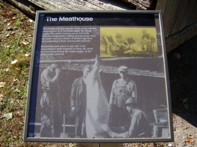 The Meathouse Marker image. Click for full size.