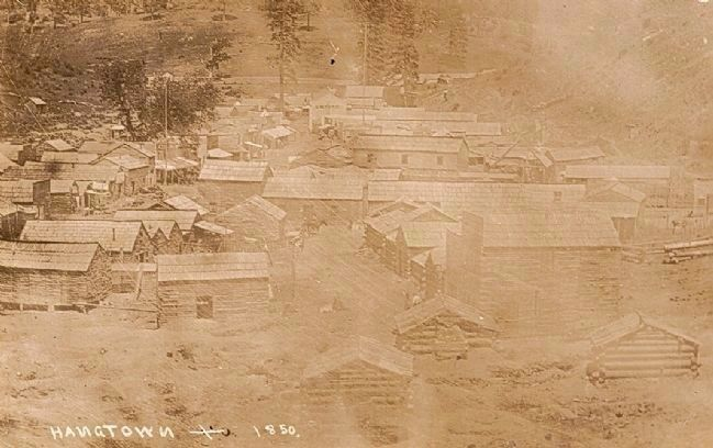 Hangtown - 1850 image. Click for full size.