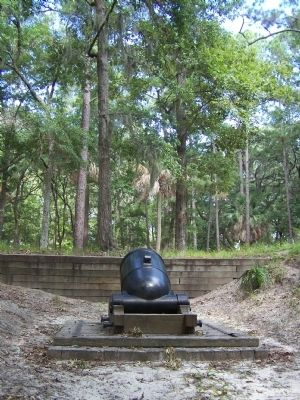 A mortar used at Fort McAllister image. Click for full size.