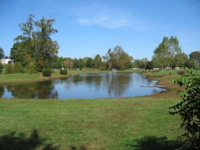 One of the Mountain Run Lakes, Yowell Meadow Park image. Click for full size.