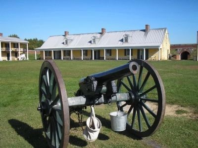 Cannon on the Parade Ground image. Click for full size.
