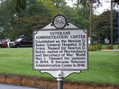 Veterans Administration Center Marker image. Click for full size.