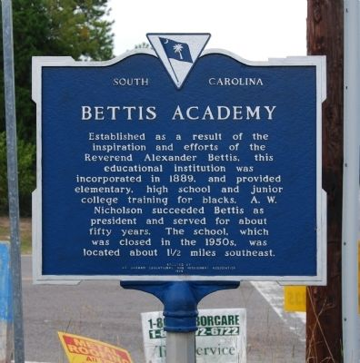 Bettis Academy Marker image. Click for full size.
