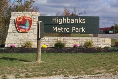 Highbanks Metro Park Entrance image. Click for full size.