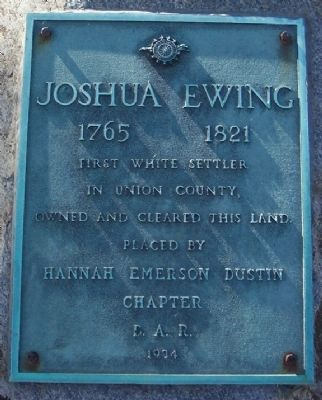 Joshua Ewing Marker image. Click for full size.