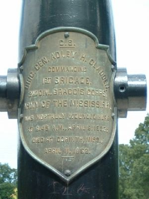 Gladden Mortuary Monument Marker image. Click for full size.