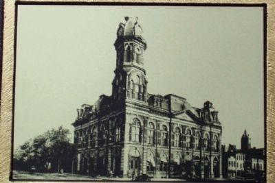 Old City Hall and Opera House Photo on Marker image. Click for full size.