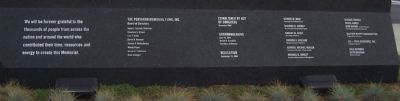 Pentagon Memorial Marker - Panel 2 image. Click for full size.