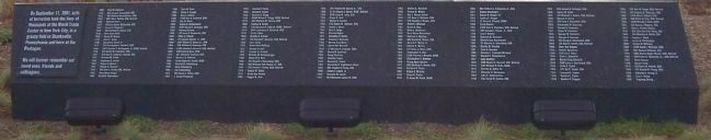 Pentagon Memorial Marker - Panel 3 image. Click for full size.