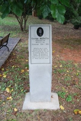George McDuffie Marker image. Click for full size.