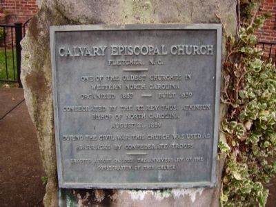 Calvary Episopal Church Marker image. Click for full size.