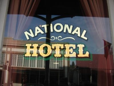 The National Hotel Window image. Click for full size.