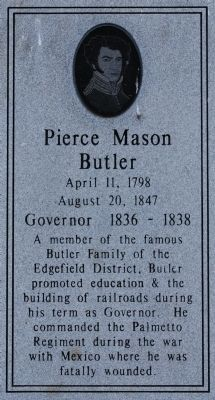 Pierce Mason Butler Marker image. Click for full size.